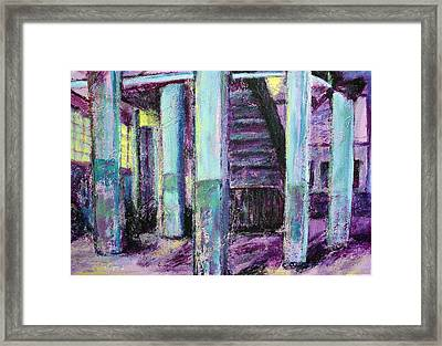 Abandoned Firehouse Framed Print by Sarah Crumpler
