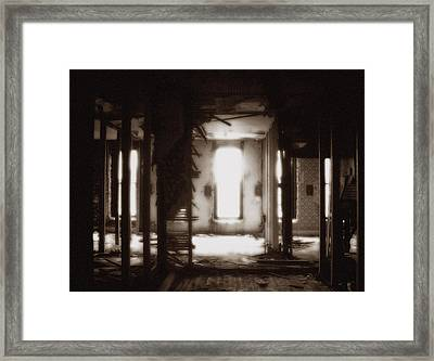 Abandoned Flophouse In Denver Framed Print