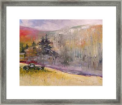 Abandoned Ford   Framed Print
