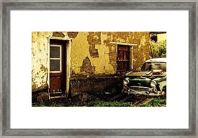 Abandoned Forgotten Framed Print