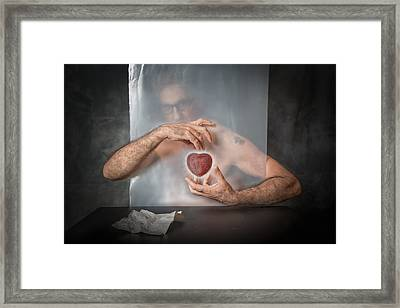 Abandoned Heart Framed Print by Vito Guarino