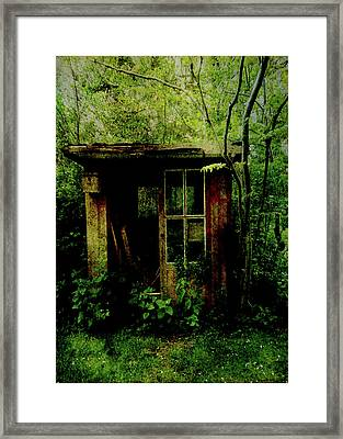 Abandoned Hideaway Framed Print by Sarah Vernon
