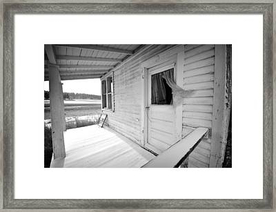 Abandoned Home Framed Print
