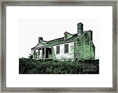 Abandoned Homestead Framed Print