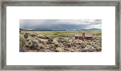 Abandoned Homestead Framed Print by Melany Sarafis