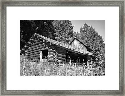 Abandoned Homestead Framed Print by Richard Rizzo