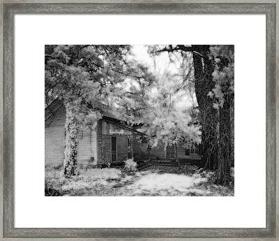 Abandoned House Framed Print by Fred Baird