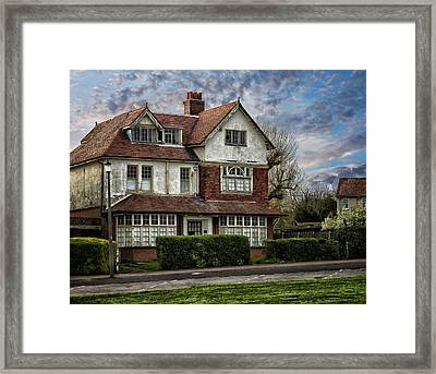 Abandoned House Framed Print by Martin Newman
