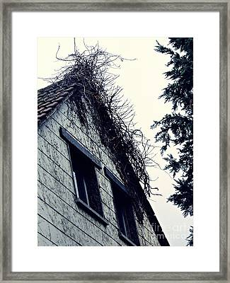 Abandoned House Framed Print by Sarah Loft