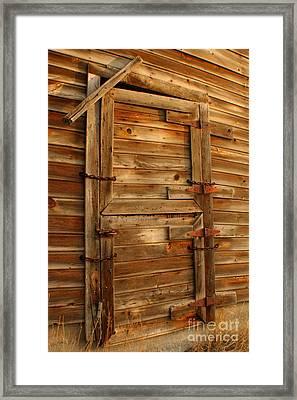 Abandoned Framed Print by Idaho Scenic Images Linda Lantzy
