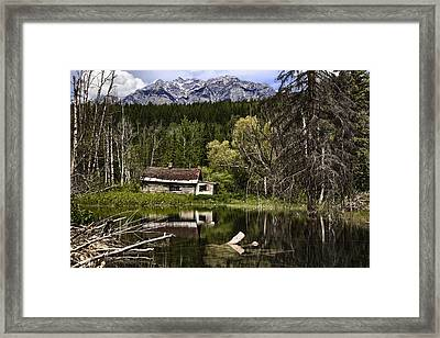Abandoned IIi Framed Print by Monte Arnold