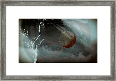Abandoned In A Dying World Framed Print