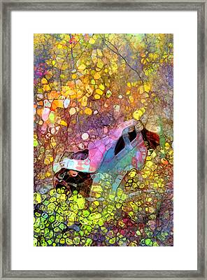 Abandoned In Colour Framed Print by Tara Turner