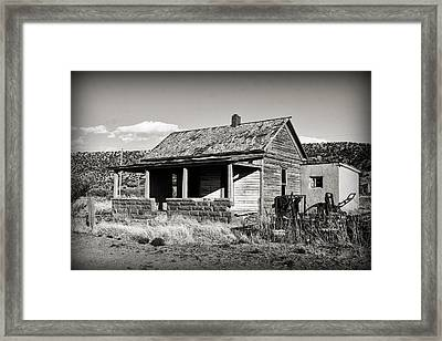 Abandoned In Cuervo Framed Print