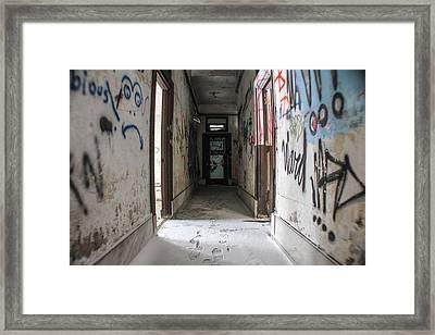 Abandoned In Detroit 1 Framed Print