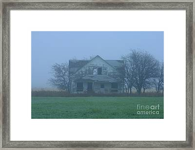 Abandoned In Oklahoma Framed Print