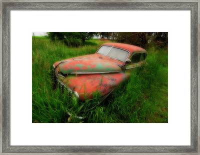 Abandoned In The Palouse Framed Print