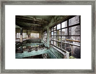 Abandoned Industrial Distillery  Framed Print by Dirk Ercken