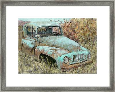 Abandoned International Framed Print