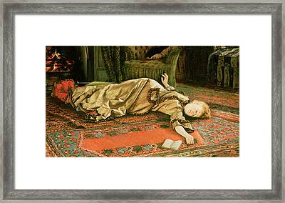Abandoned Framed Print by James Jacques Joseph Tissot
