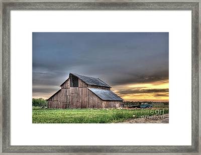 Framed Print featuring the photograph Abandoned by Jim and Emily Bush