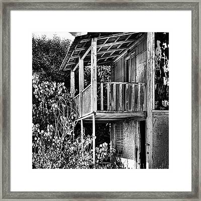 Abandoned, Kalamaki, Zakynthos Framed Print by John Edwards