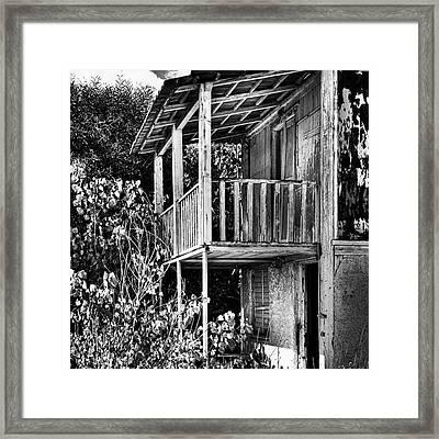 Abandoned, Kalamaki, Zakynthos Framed Print