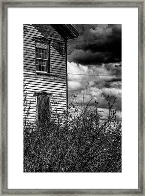 Framed Print featuring the photograph Abandoned by Kendall McKernon