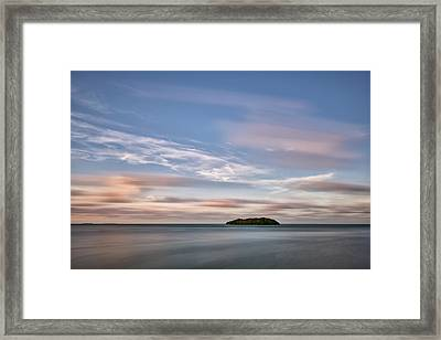 Framed Print featuring the photograph Abandoned Key by Jon Glaser