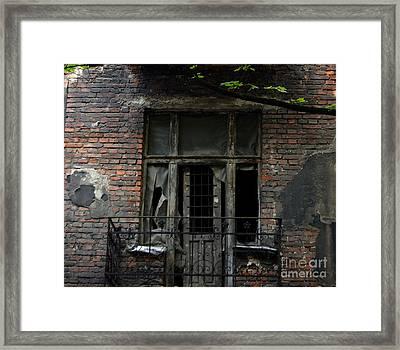 Abandoned Krakow Poland Framed Print by Wayne Higgs