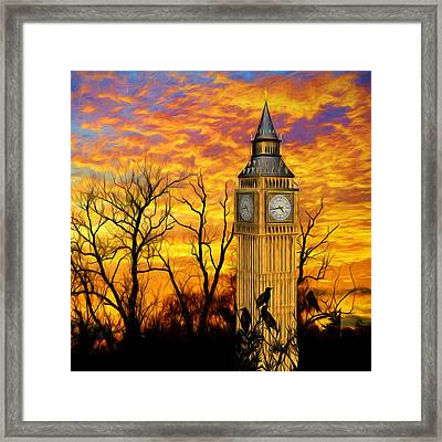 Abandoned London 2 Framed Print by Sharon Lisa Clarke