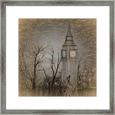 Abandoned London Framed Print by Sharon Lisa Clarke