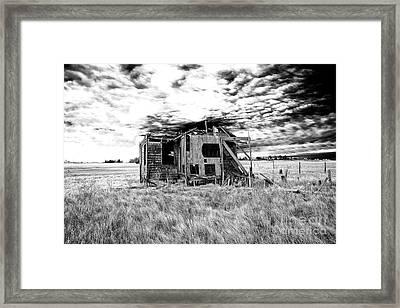 Abandoned Long Beach Island Shack Framed Print