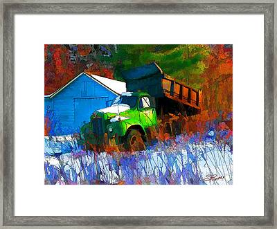 Abandoned Mack Framed Print