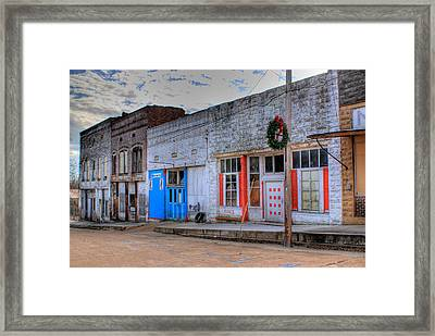 Abandoned Main Street Framed Print by Douglas Barnett