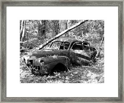 Abandoned Framed Print by Mark Alan Perry