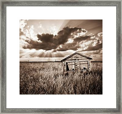 Abandoned Framed Print by Meirion Matthias