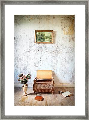 Abandoned Memories -urbex Framed Print by Dirk Ercken