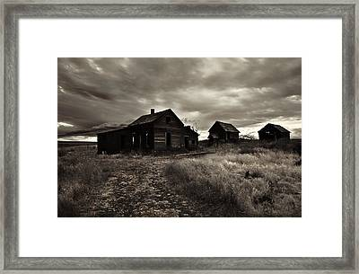 Abandoned Framed Print by Mike  Dawson