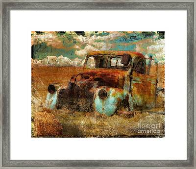 Abandoned Framed Print by Mindy Sommers
