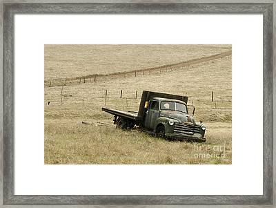 Abandoned Framed Print by Norman Andrus