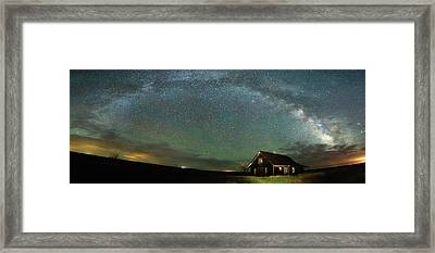 Abandoned On The Plains Framed Print by Darren White