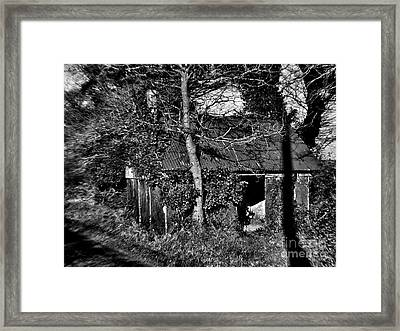 Abandoned Peasant Cottage Framed Print by Mike Chen