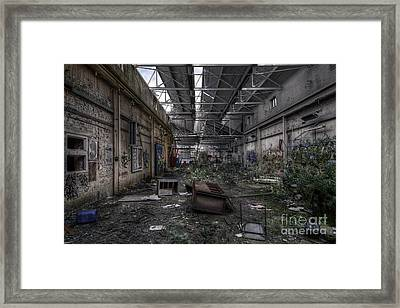 Abandoned Place Framed Print by Svetlana Sewell
