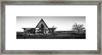Abandoned Places Framed Print by Jon Manjeot