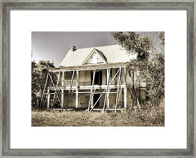Abandoned Plantation House #2 Framed Print by Andrew Crispi
