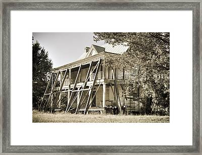Abandoned Plantation House #3 Framed Print by Andrew Crispi