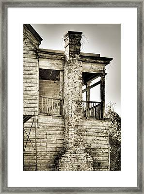 Abandoned Plantation House #5 Framed Print by Andrew Crispi