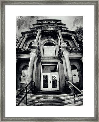 Abandoned Psychiatric Hospital Framed Print
