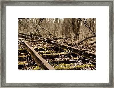 Abandoned Railroad 1 Framed Print by Scott Hovind
